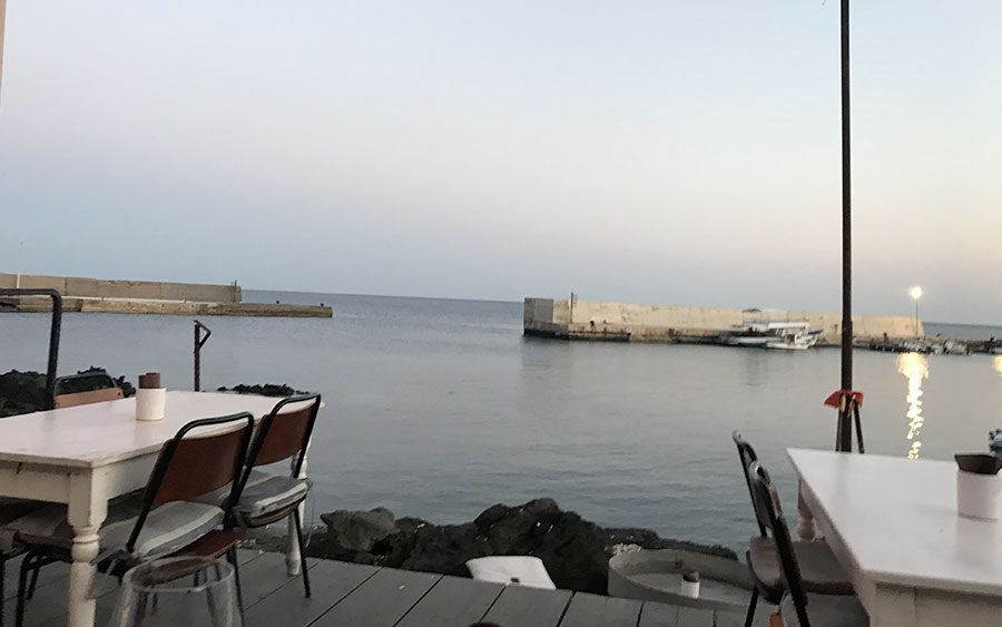Aperitivo al porto Kaya Kaya