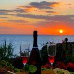 Vista panoramica e aperitivo
